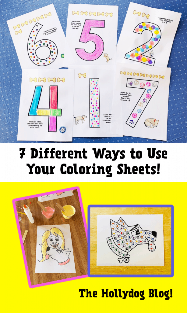 7 Different Ways to Use Your Coloring Sheets for Pre-K