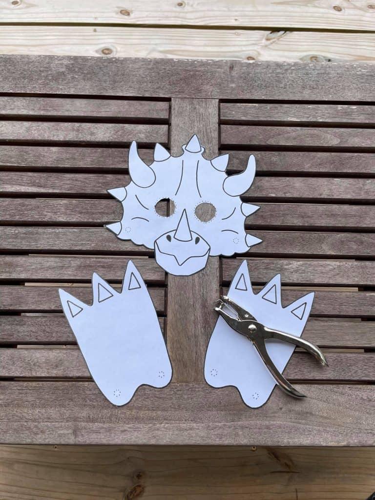 dinosaur cutouts for preschool