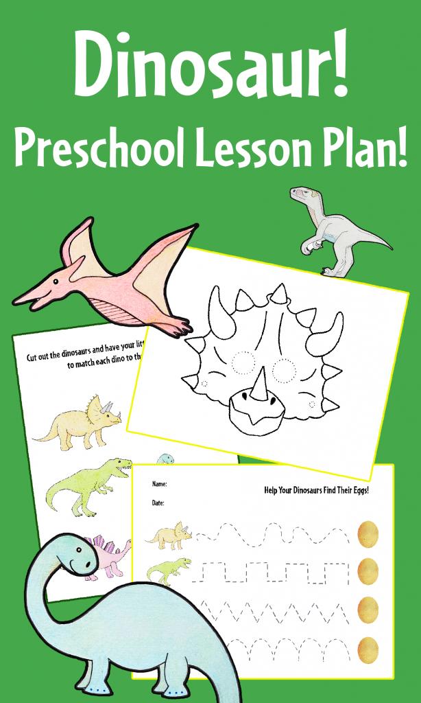 Dinosaur Discovery Preschool Lesson Plan