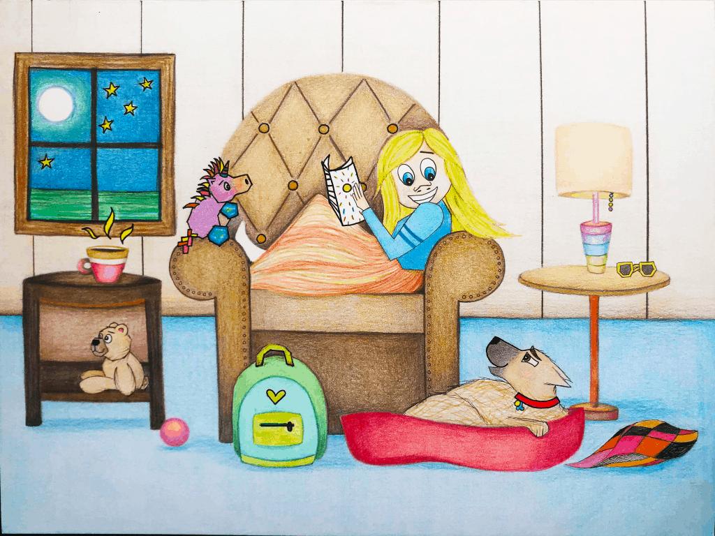"Preschool Lesson Plan FREE printable activity, ""My Hollydog""."