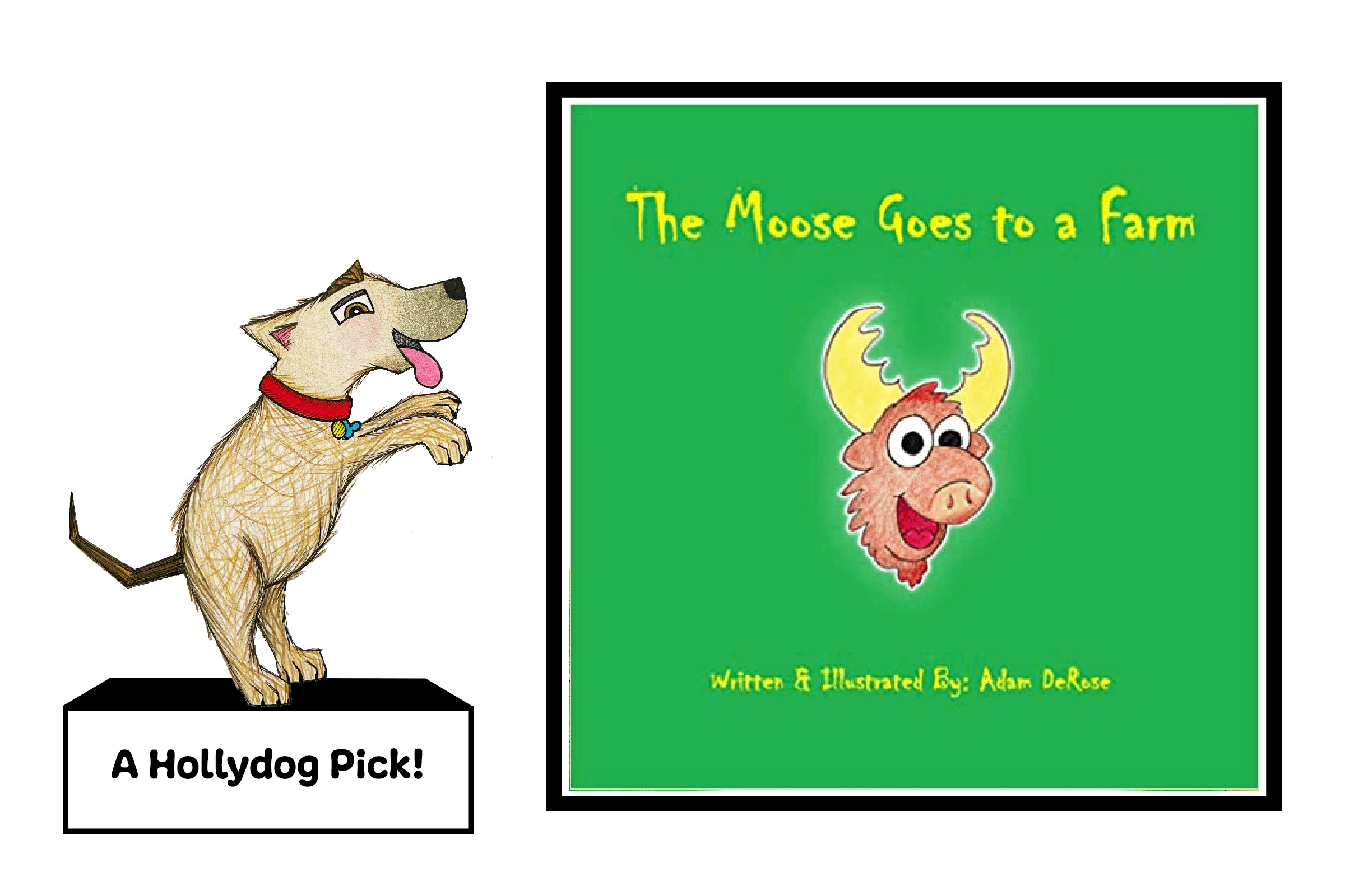 The Moose Goes to a Farm Picture Book