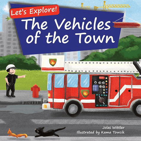 The Vehicles of the Town Picture Book