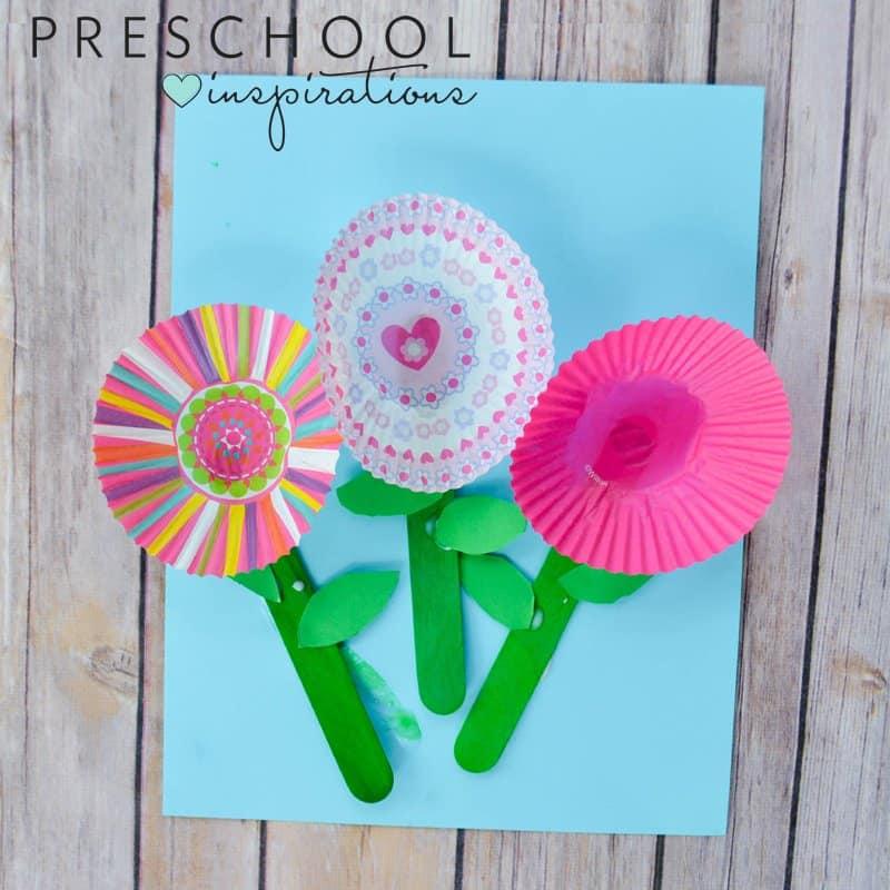 Cupcake Flower Craft