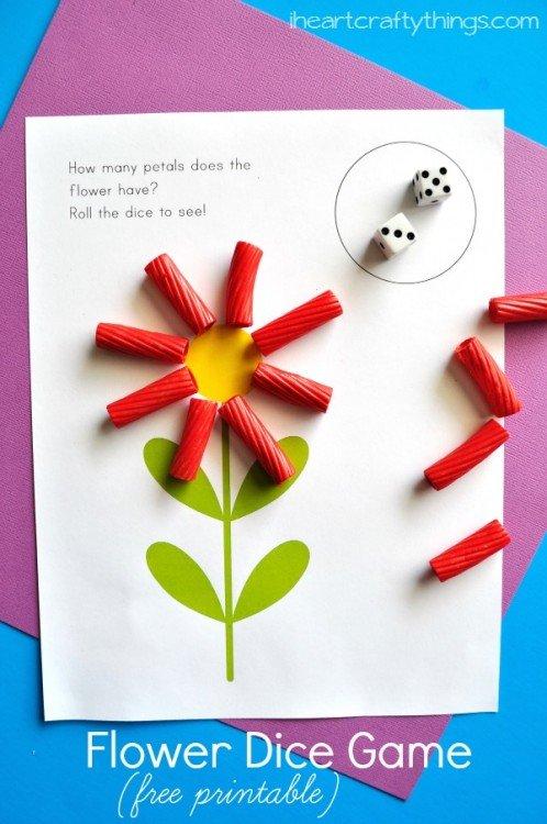 Preschool Flower Activity