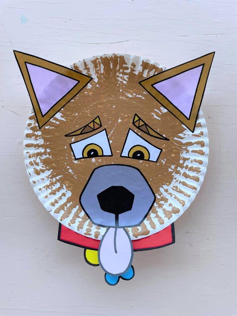 """""""My Hollydog"""" Paper Plate Preschool Craft!"""