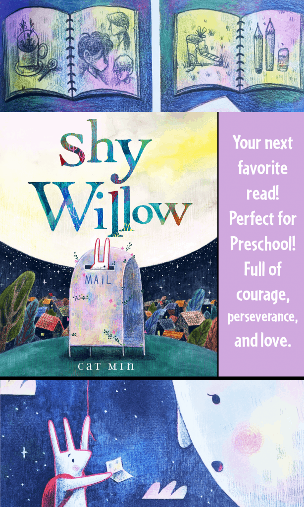 """""""Shy Willow"""" a picture book"""