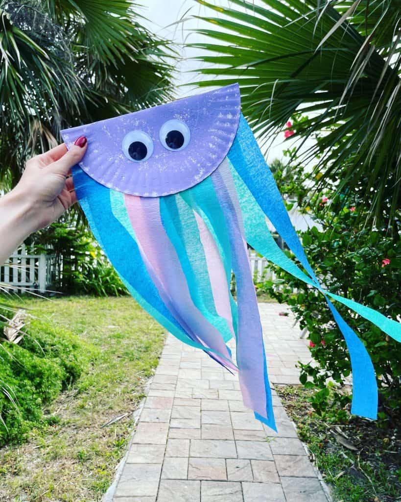 Preschool Jellyfish Craft