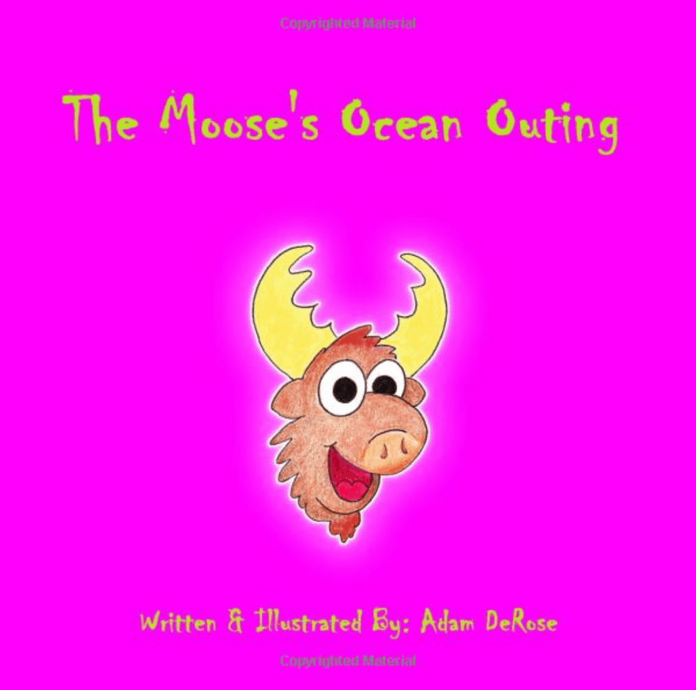 The Moose's Ocean Outing Picture Book